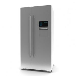 Refrigerator-3d rendering